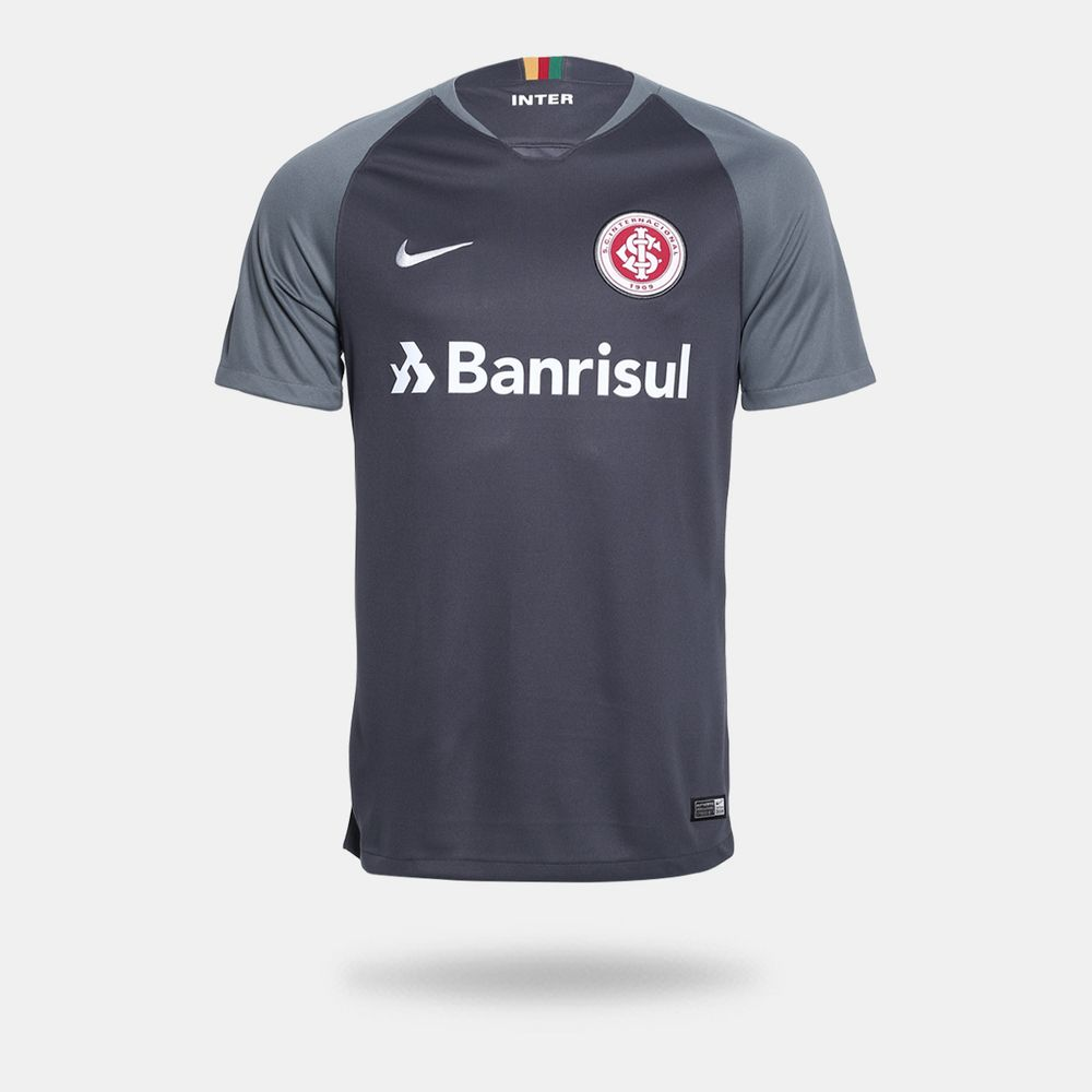 Camisa Nike Internacional 2018 2019 III Torcedor Cinza Masculina ... 00054e61a2fdd