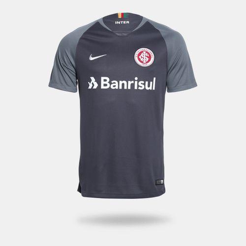a96c021b2f Camisa Nike Internacional 2018 2019 III Torcedor Cinza Masculina
