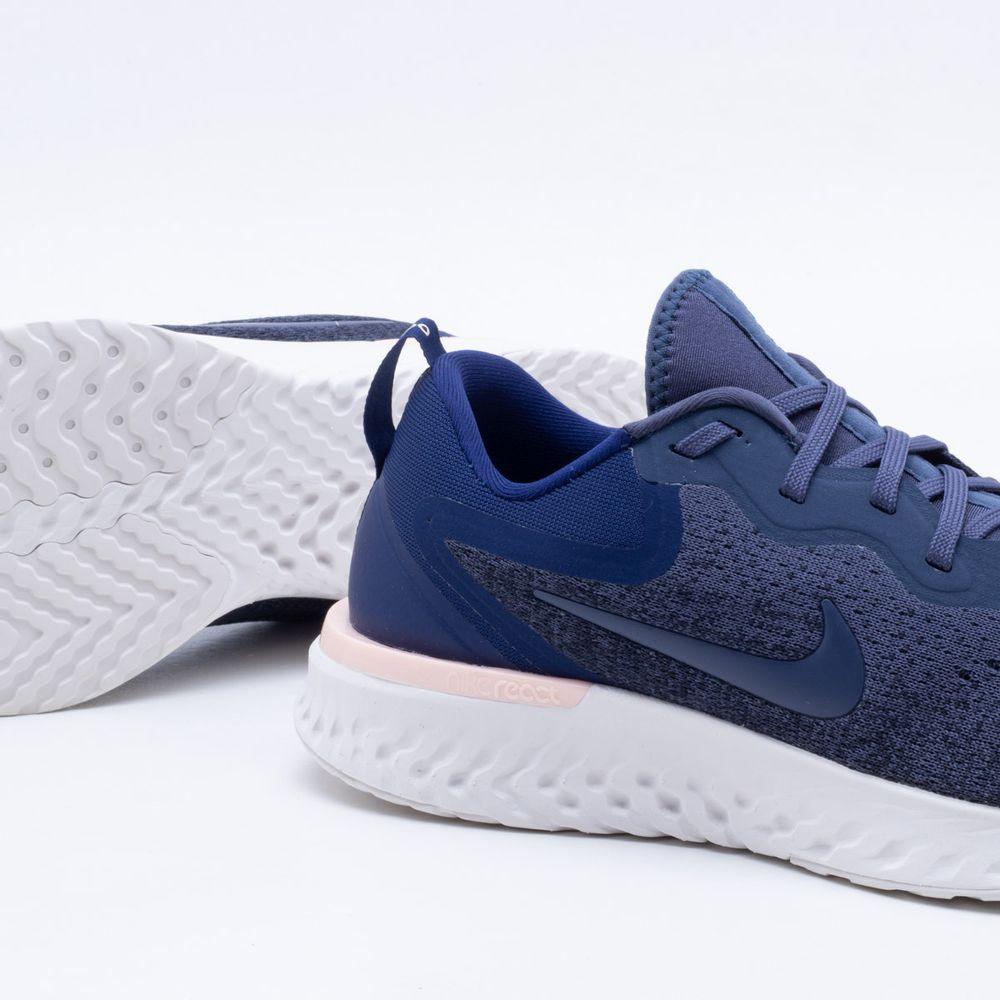 Tênis Nike Glide React Masculino Azul Marinho - Gaston - Paqueta Esportes 13a085174bbdc