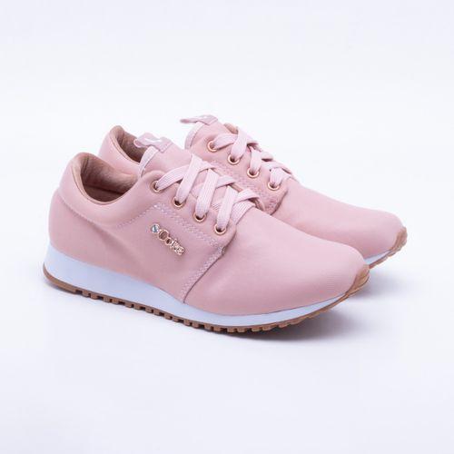 d4706b0f48 Tênis Coca-Cola Shoes Sense Cetim Rose Feminino