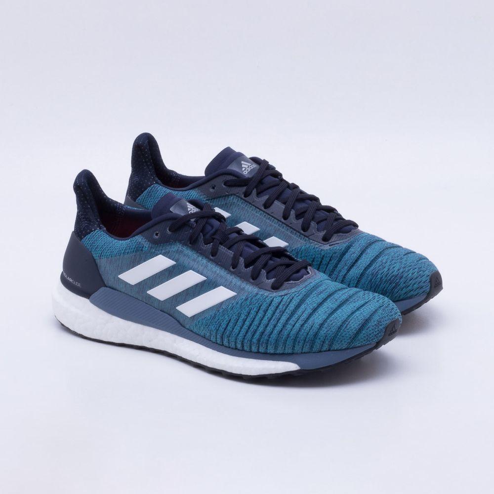 e4936d741d193 Tênis Adidas Solar Glide Masculino Azul - Gaston - Paqueta Esportes