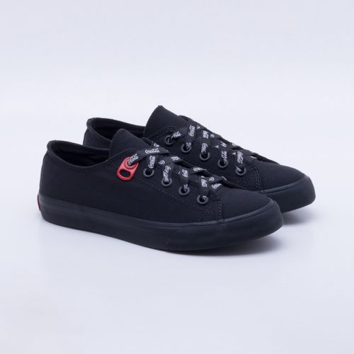 048dd8cee Tênis Coca-Cola Shoes Basket Canvas Feminino