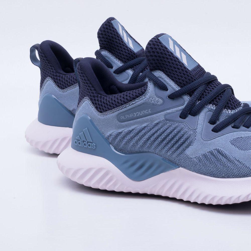 5e86c2437 Tênis Adidas Alphabounce Beyond Feminino Azul - Gaston - Paqueta ...