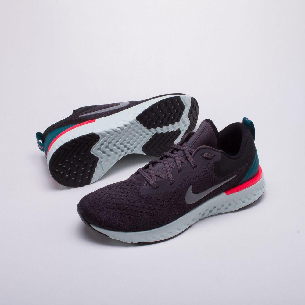 Tênis Nike Glide React Masculino Chumbo - Gaston - Paqueta Esportes 80491197f0e2f