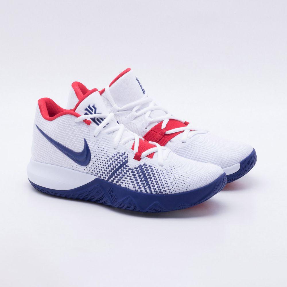a95e953e23b Tênis Nike Kyrie Flytrap Masculino Branco e Azul - Gaston - Paqueta ...
