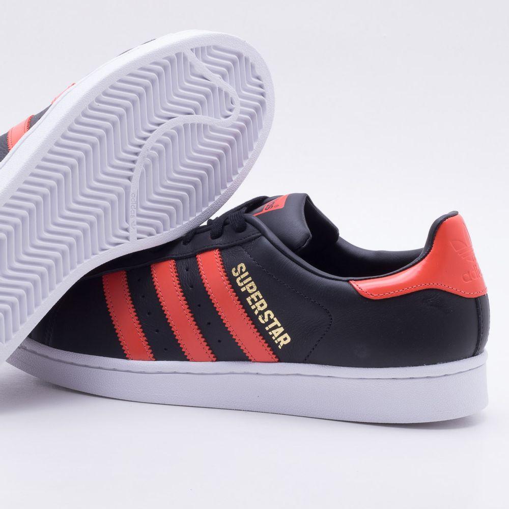 a14995047dc84 Tênis Adidas Superstar Originals Preto Masculino Preto - Gaston ...