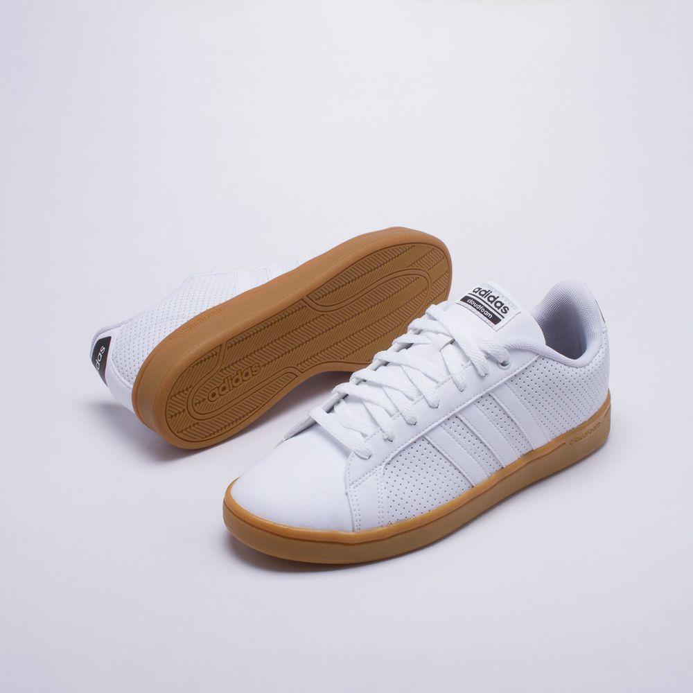 Tênis Adidas CF Advantage Branco Masculino Branco - Gaston - Paqueta  Calçados 02237cd4e5574