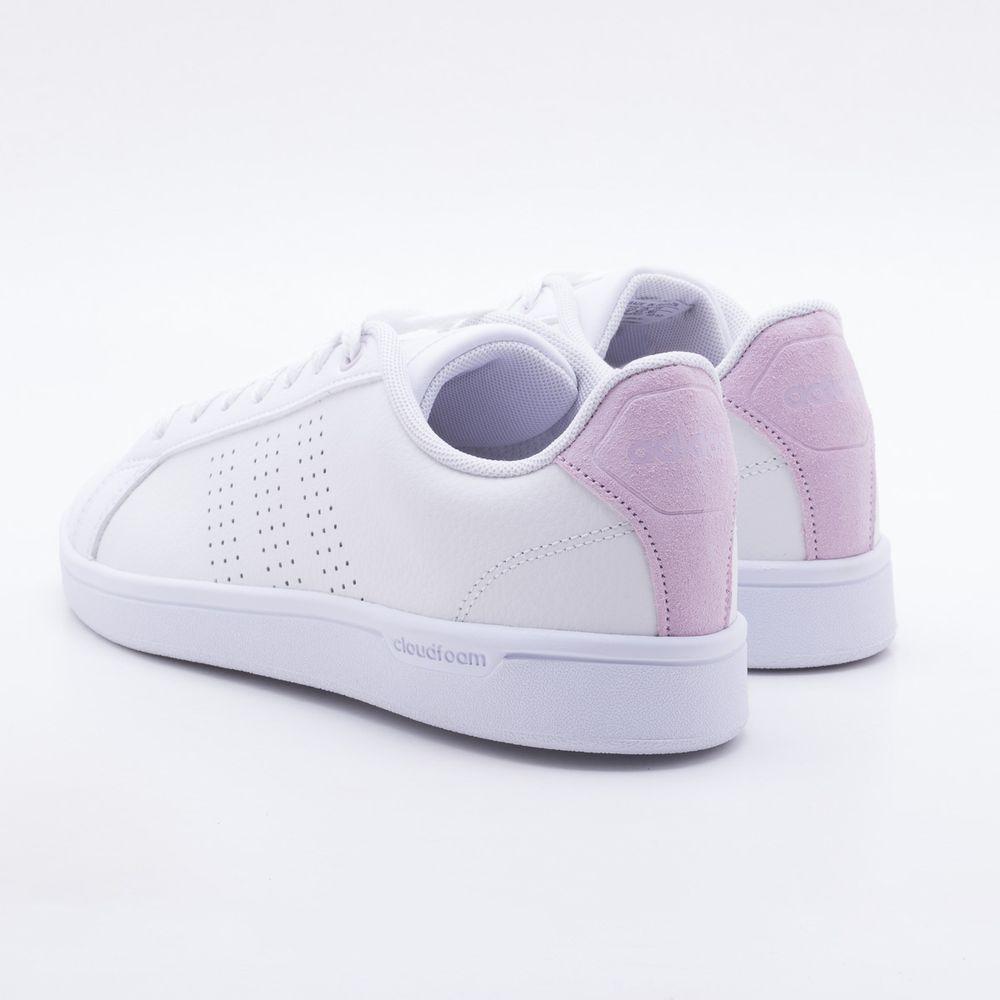 fade2c80f5 Tênis Adidas CF Advantage Clean Branco Feminino Branco - Gaston - Paqueta  Calçados
