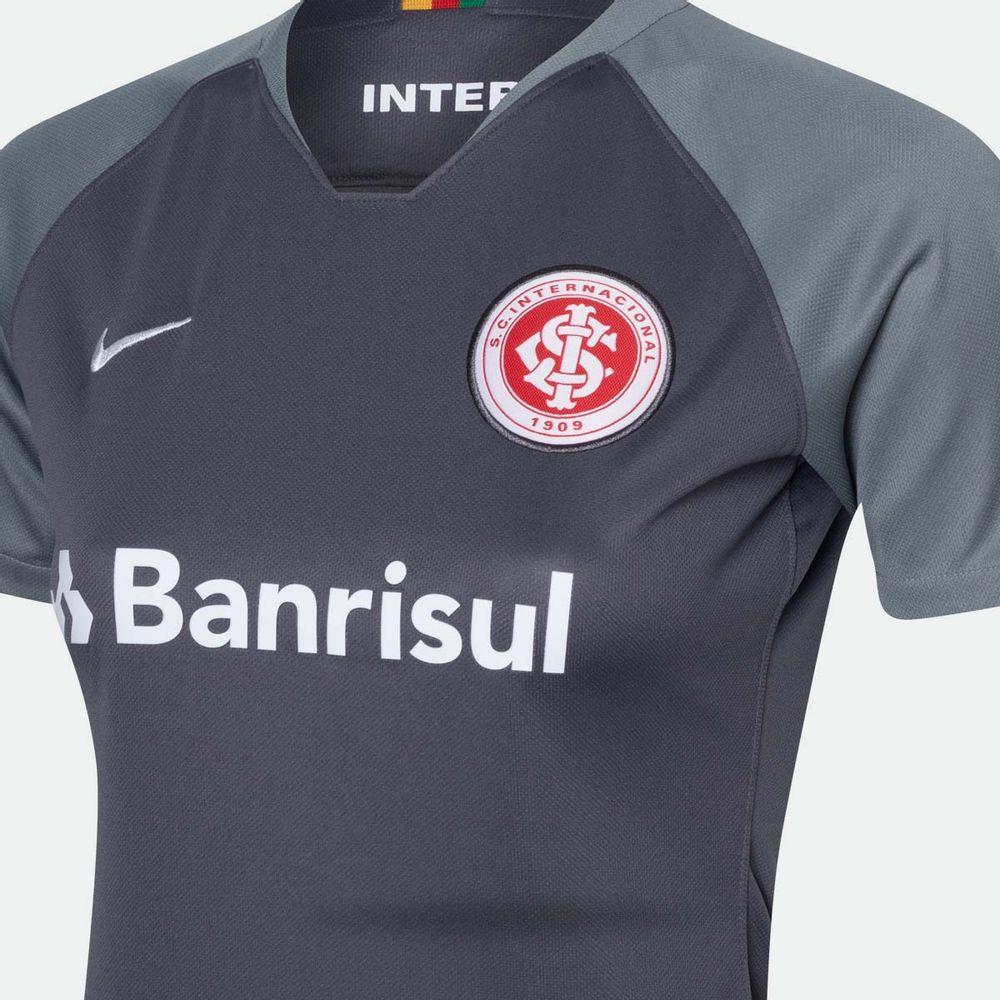 8ba5272804 Camisa Nike Internacional 2018 2019 III Torcedor Cinza Feminina Cinza -  Gaston - Paqueta Esportes