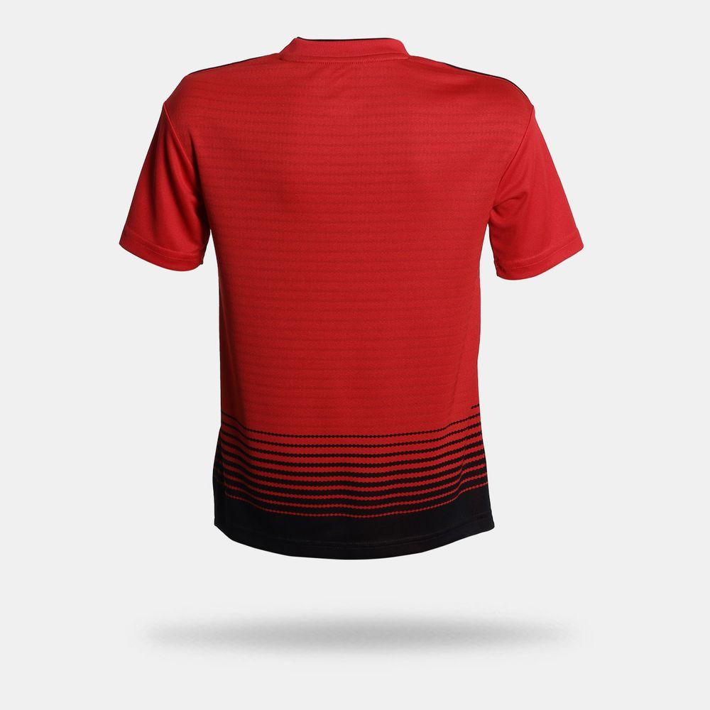 e1db4cb8344ed Camisa Adidas Manchester United 2018 2019 Vermelha Infantil Vermelho ...