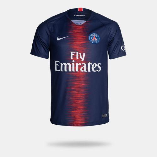 Camisa Nike PSG I 2018 2019 Torcedor Masculina 1f201793ead3e