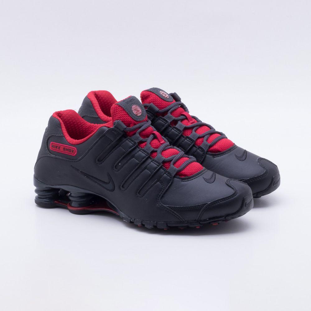 Tênis Nike Shox Nz Se Masculino Preto - Gaston - Gaston 3d4da9452daa6