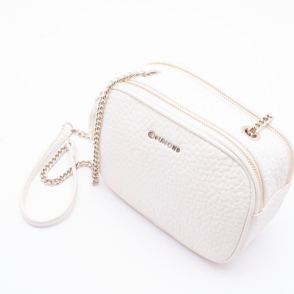 6e99a00a12a5 Bolsa Shoulder Bag Vanilla Dumond Vanilla - Gaston - Paqueta Calçados