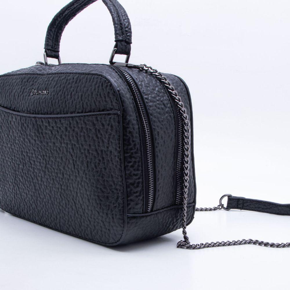 bc4357c957ef Bolsa Shoulder Bag Preta Dumond Preto - Gaston - Paqueta Calçados