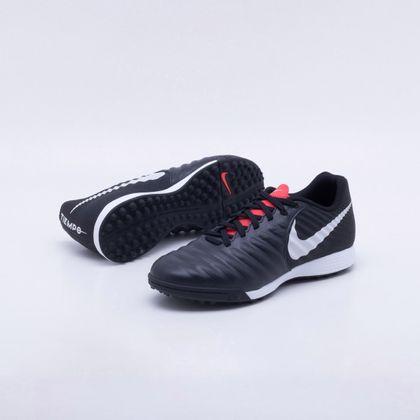 d7df56b0a8fba Chuteira Society Nike TiempoX Legend 7 Academy TF Preto - Gaston - Paqueta  Esportes