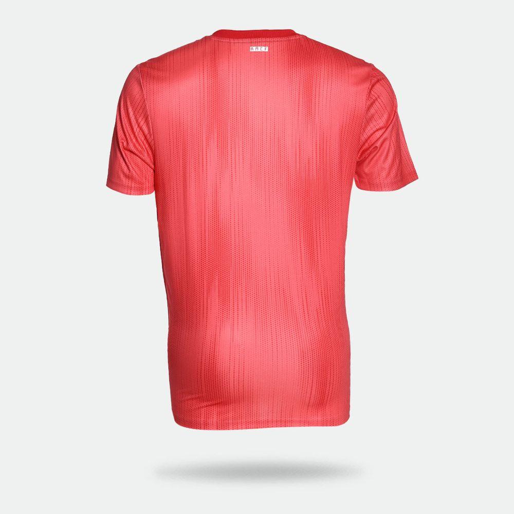 8c6fbe731e3f1 Camisa Adidas Real Madrid 2018/2019 III Torcedor Vermelha Masculina ...