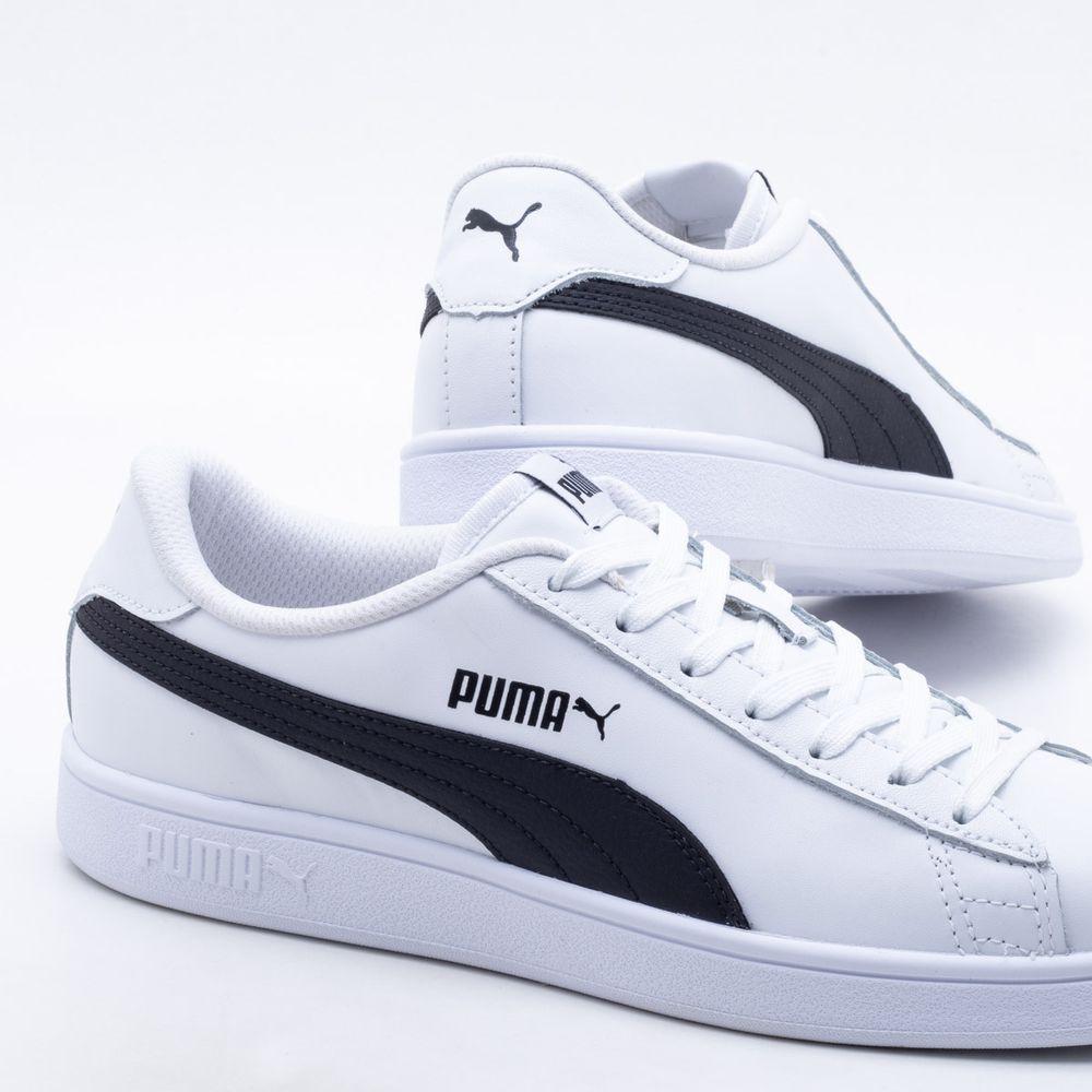 Tênis Puma Smash V2 BDP Branco Masculino Branco - Gaston - Paqueta Calçados 96f4f69ca2e11