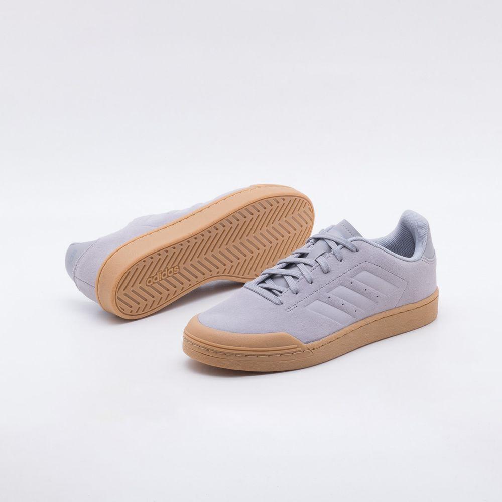 c484cdfb2 Tênis Adidas Court 70S Cinza Masculino Cinza - Gaston - Paqueta Calçados