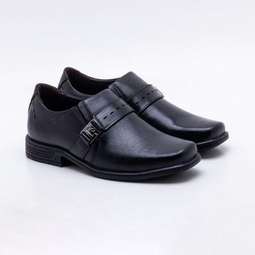 Sapato Casual Pegada Couro Preto Masculino