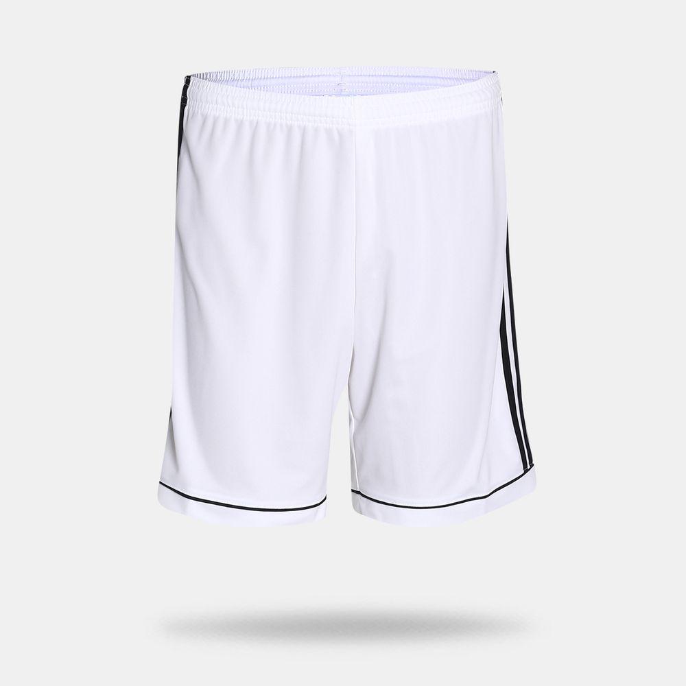 Calção Adidas Squadra 17 Branco Masculino Branco e Preto - Gaston ... 32d1a78769b71