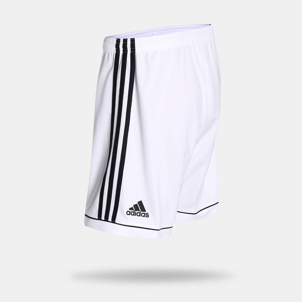 b35e4c76e7 Calção Adidas Squadra 17 Branco Masculino Branco e Preto - Gaston - Paqueta  Esportes