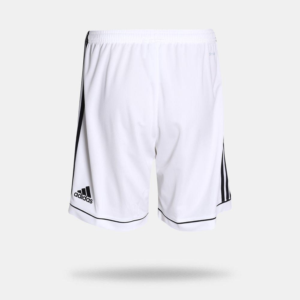 dd2b783285cb8 Calção Adidas Squadra 17 Branco Masculino Branco e Preto - Gaston ...