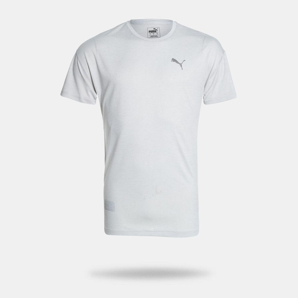 Camiseta Puma Energy SS TEE Cinza Masculina Cinza Claro - Gaston ... 0542f3a42d234