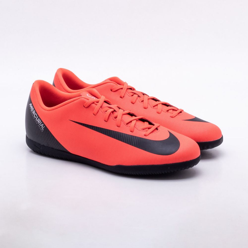 separation shoes b1c8c 7dd61 Chuteira Futsal Nike MercurialX CR7 Vapor 12 Club IC ...