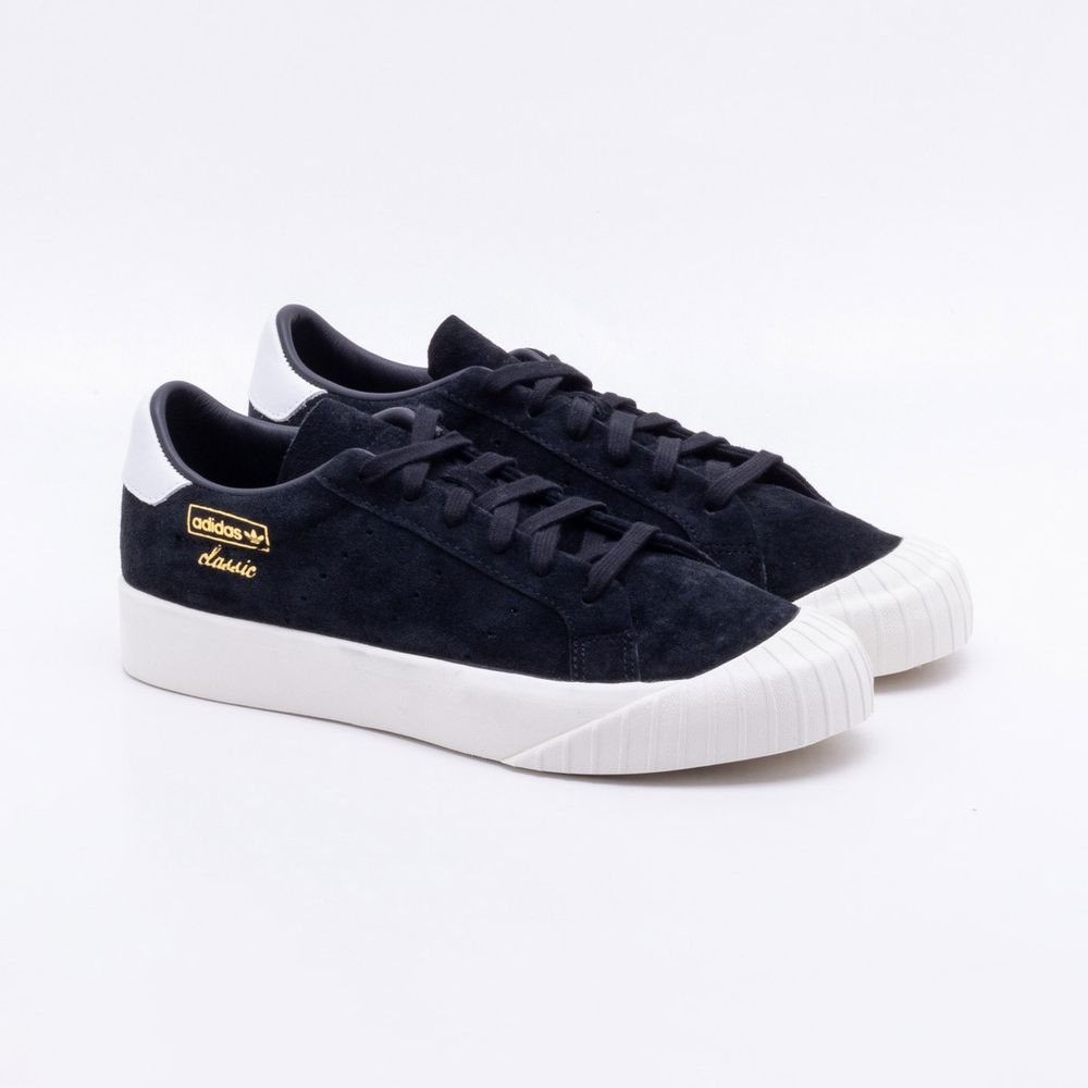 7e2feb09f77 Tênis Adidas Everyn Originals Preto Feminino Preto - Gaston ...