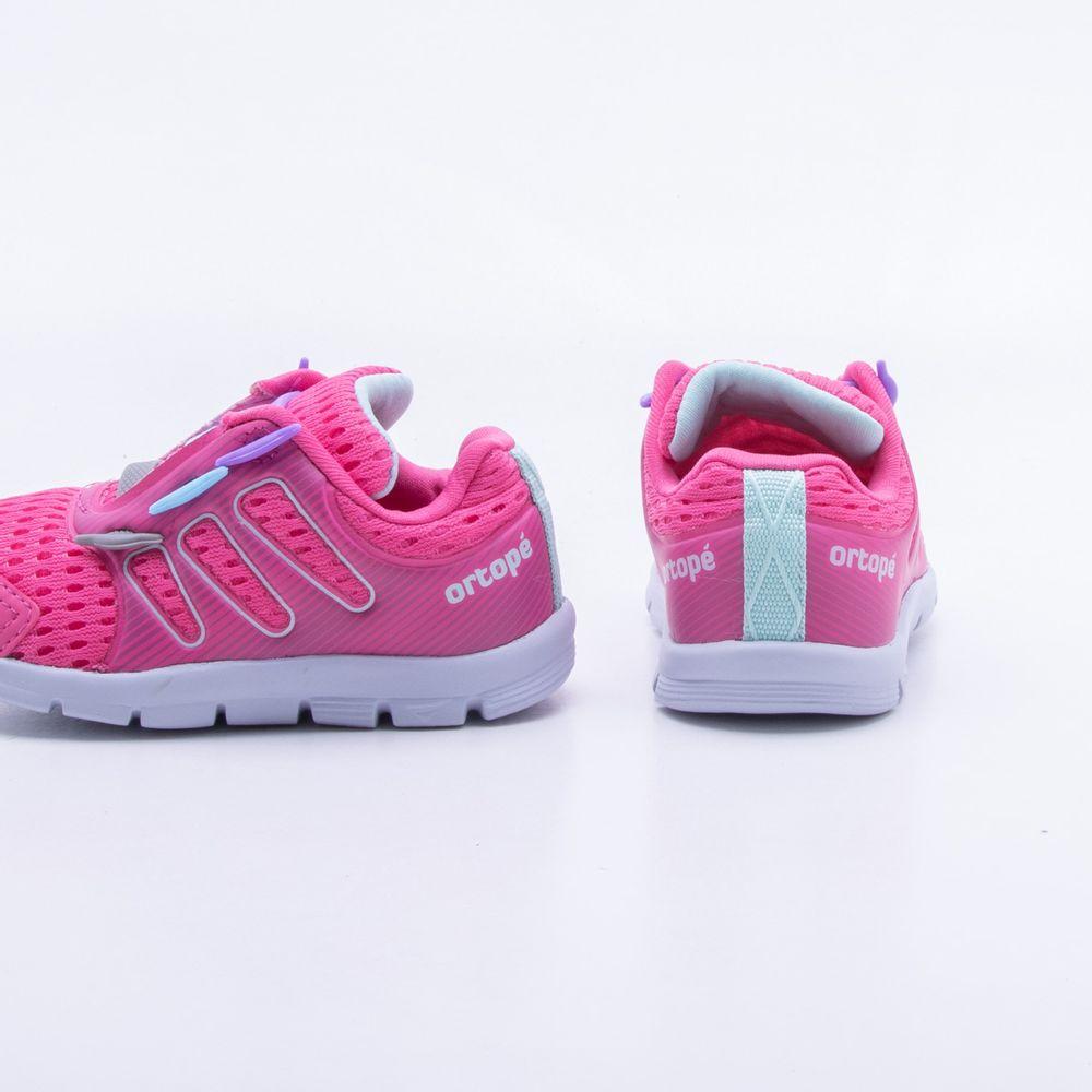 4bfeb0ee4cb Tênis Ortopé Baby Estica e Puxa Rosa Rosa - Gaston - Paqueta Esportes