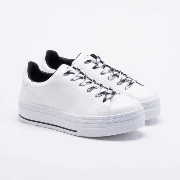 62f61392895 Tênis Ramarim Flatform Branco