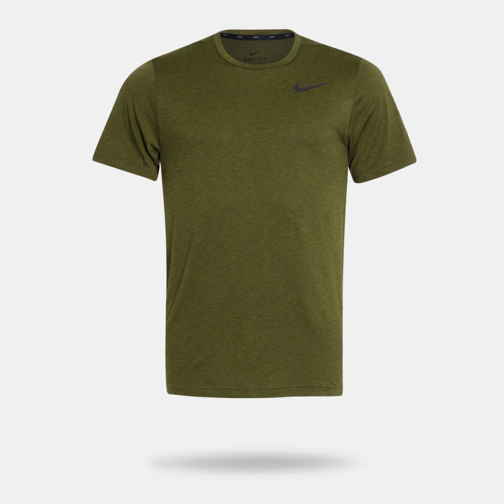 a5808b9fe2 Camiseta Nike Breathe Oliva Masculina Oliva - Gaston - Paqueta Esportes