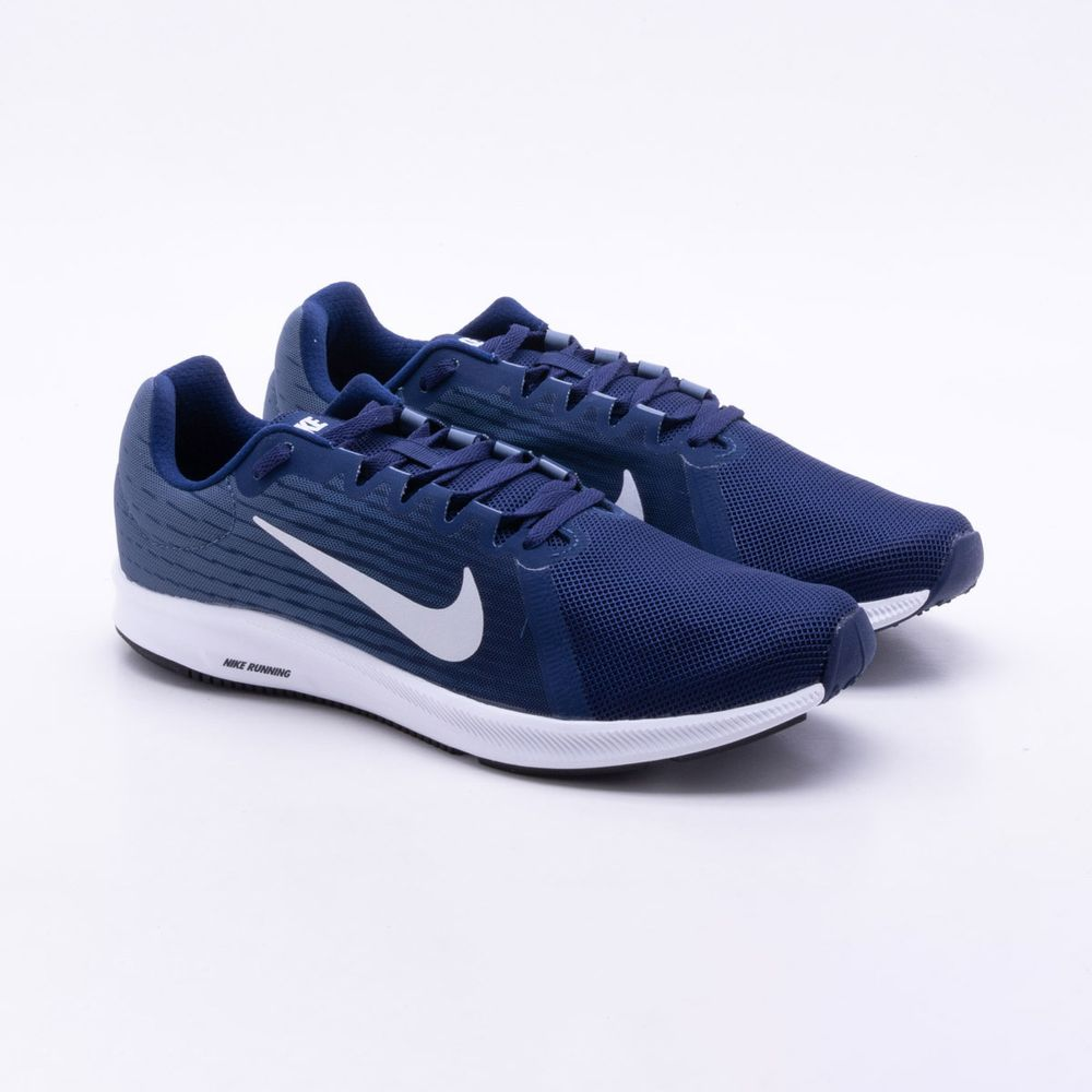 13b91c2e65f Tênis Nike Downshifter 8 Masculino Azul - Gaston - Paqueta Esportes