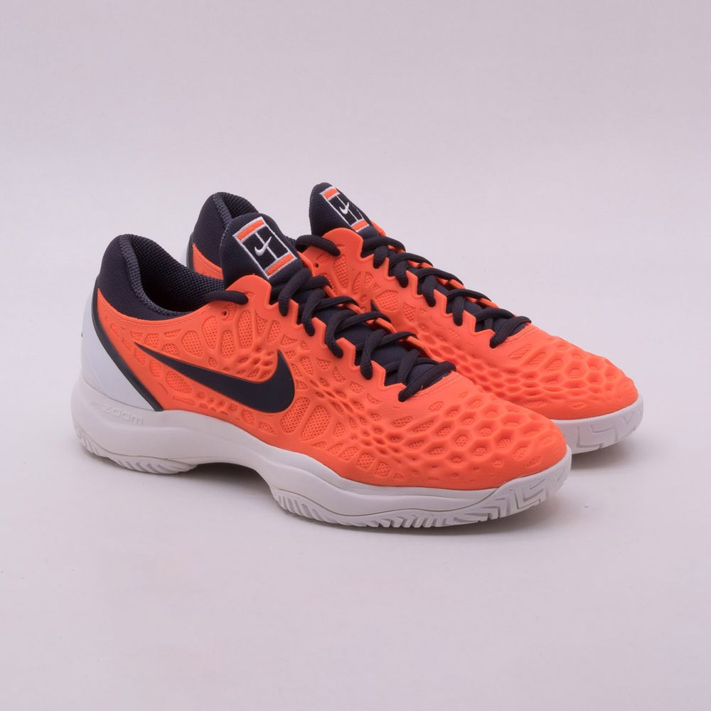 85038e8ca569c Tênis Nike Zoom Cage 3 HC Masculino Laranja - Gaston - Paqueta Esportes