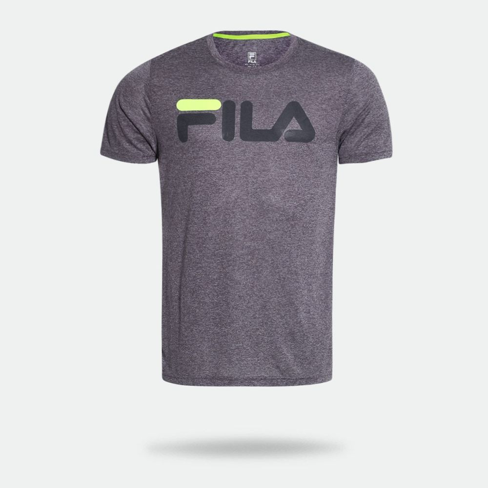 c6d2122de7 Camiseta Fila DNA II Mescla Masculina Mescla - Gaston - Paqueta Esportes
