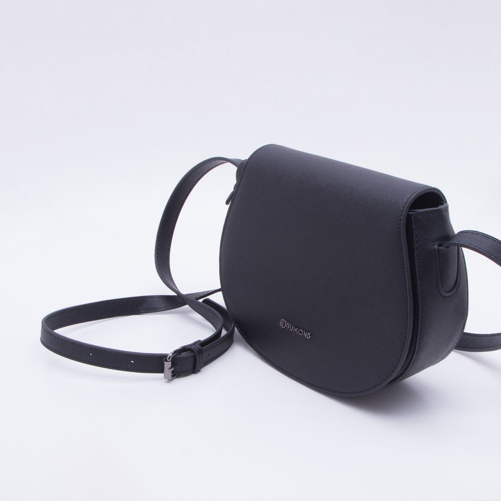 0baec013ff Bolsa Shoulder Bag Preta Dumond Preto - Gaston - Paqueta Calçados