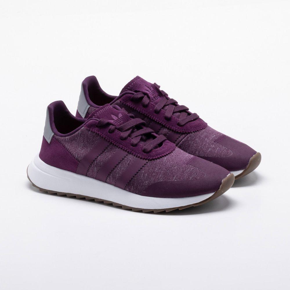 6400de5c8 Tênis Adidas FLB Runner Originals Feminino Roxo - Gaston - Paqueta ...