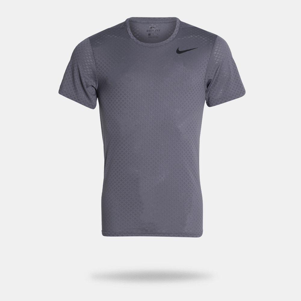Camiseta Nike Breath Cinza Masculina Cinza - Gaston - Paqueta Esportes 30b311fea7c9a