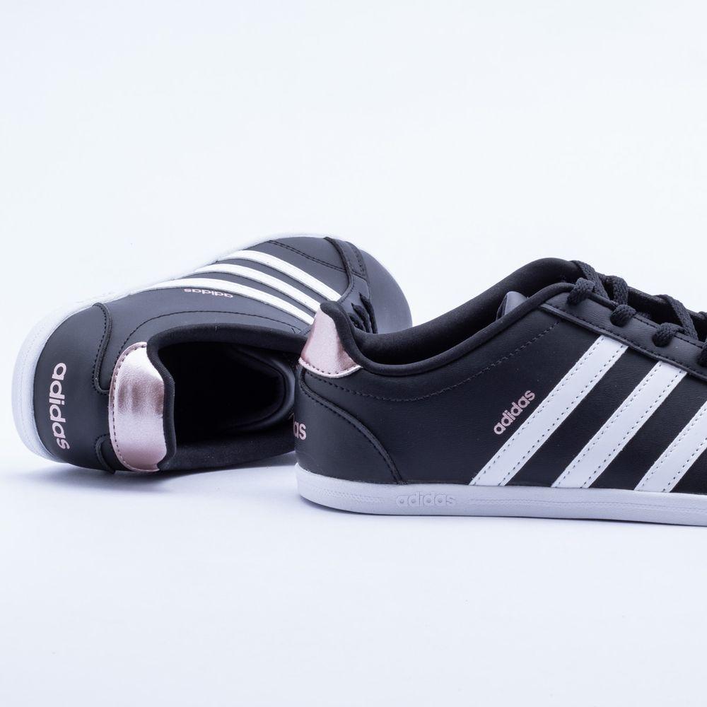 2963e14b5c Tênis Adidas VS Coneo QT Preto Feminino Preto - Gaston - Paqueta Esportes