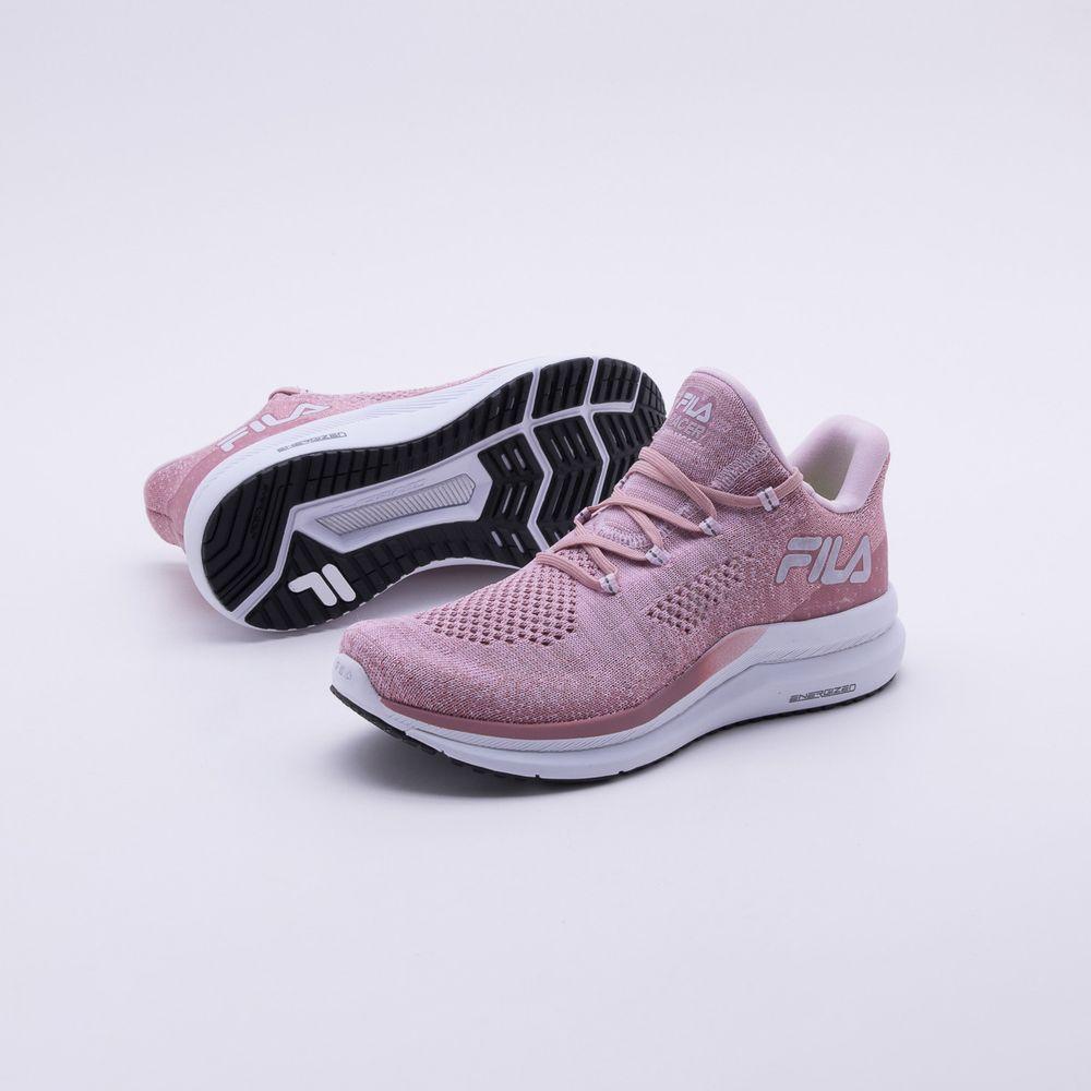 93e99f525e Tênis Fila Racer Knit Energized Feminino Rosa - Gaston - Paqueta Esportes