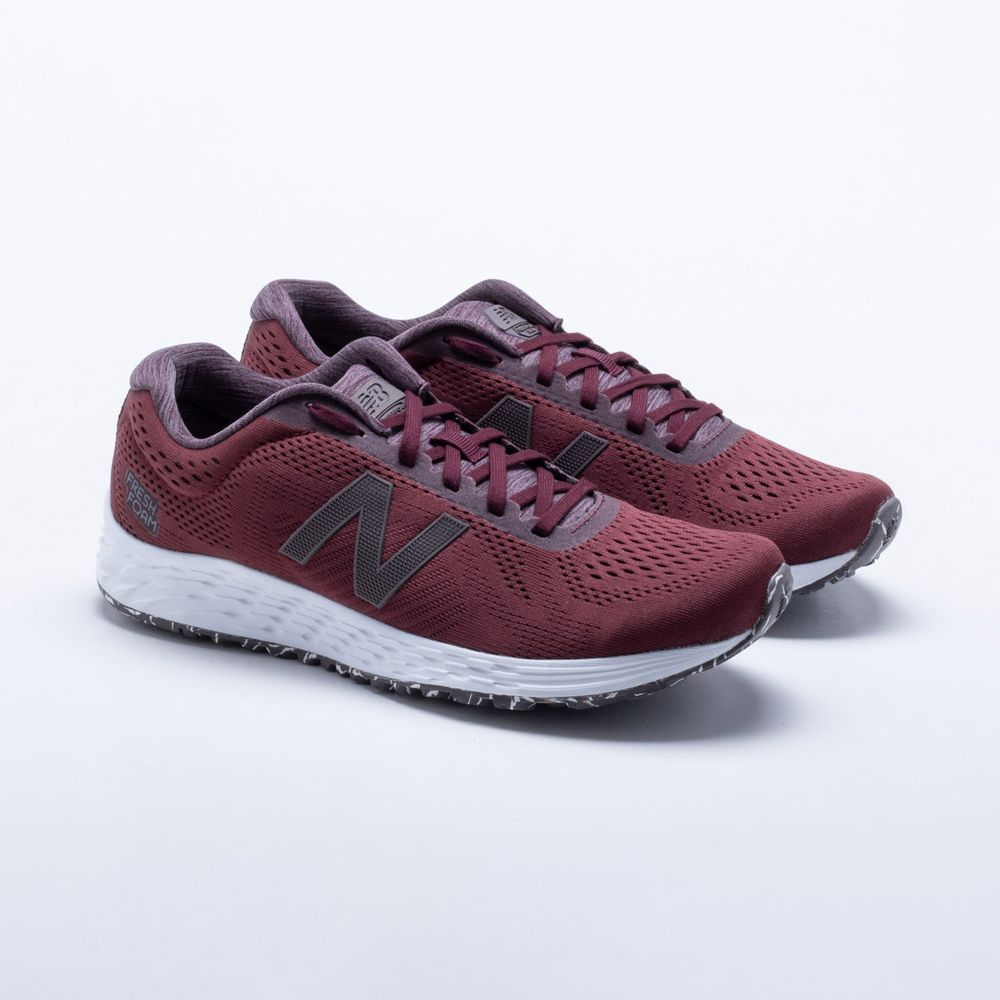 Tênis New Balance Fresh Foam Arishi Masculino Bordô - Gaston ... 2dccfb1c528b0