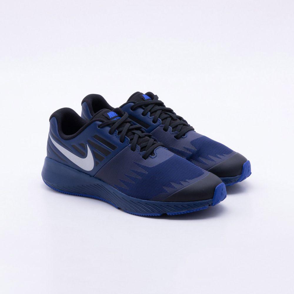Tênis Nike Infantil Star Runner RFL GS Azul - Gaston - Paqueta Esportes 749c25cf067f3