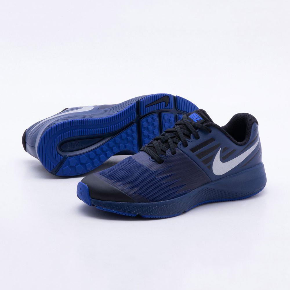 Tênis Nike Infantil Star Runner RFL GS Azul - Gaston - Paqueta Esportes fc308bbe8a9fe