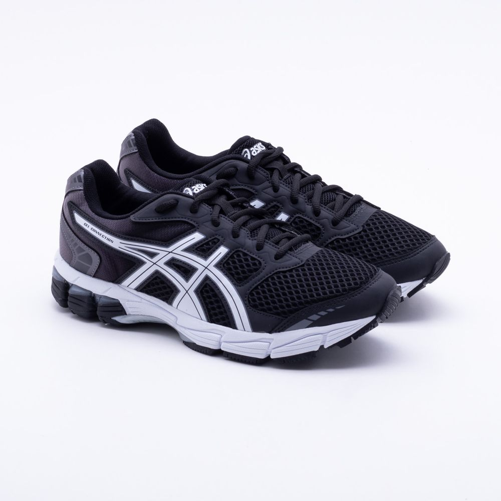 bdbdd2a6f91 Tênis Asics Gel Connection Masculino Preto e Branco - Gaston ...
