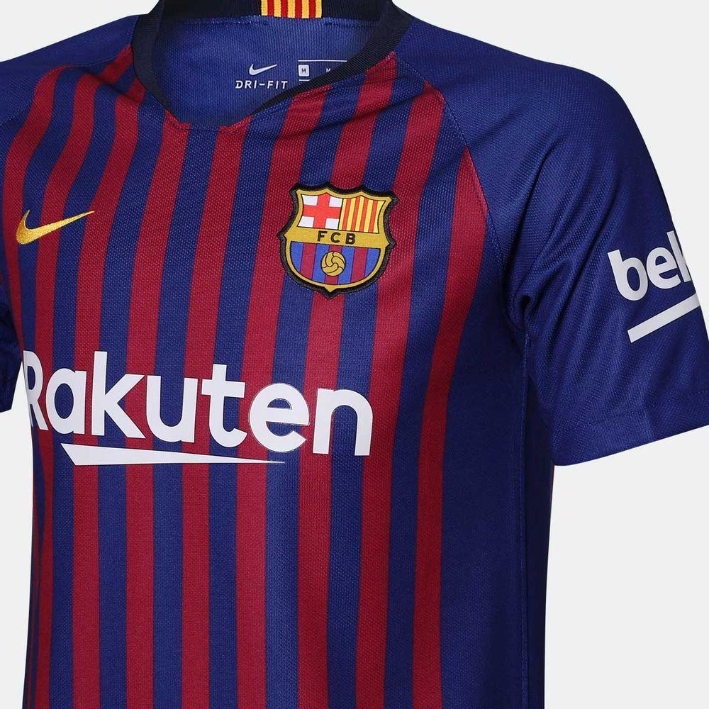 6380e47c22 Camisa Nike Barcelona 2018 2019 I Torcedor Azul Infantil Azul - Gaston -  Paqueta Esportes