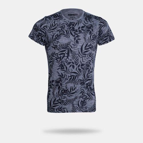 Camiseta Burnett Azul Masculina 3485645e367