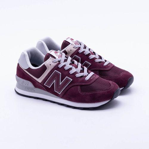 Tênis New Balance 574 Vinho Masculino 732274896d27f