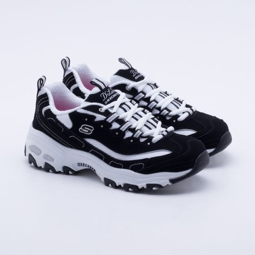29e25fba3fb Tênis Skechers D Lites Biggest Fan Preto Feminino