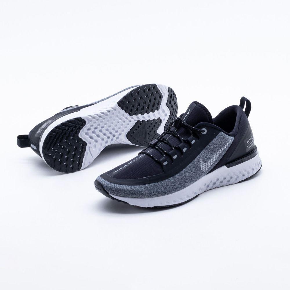 32a0db76dd6 Tênis Nike Odyssey React Shield Masculino Preto e Cinza - Gaston ...