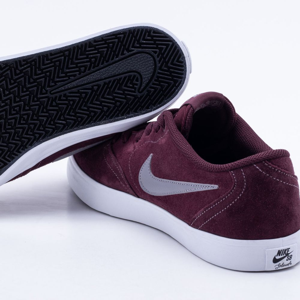 Tênis Nike SB Check Solar Borgonha Masculino Borgonha - Gaston - Paqueta  Esportes a528f13ee9224
